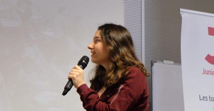 Interview de Léone Pertriaux, Responsable Communication de la Confédération Nationale des Junior-Entreprises