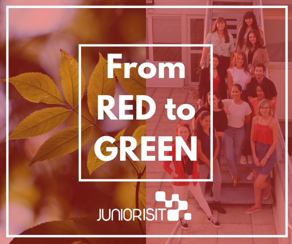 Du rouge au vert, le tournant RSE de Junior ISIT